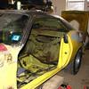 Driver's door removed.