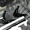 Upper control arms and torsion bars