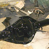 Dana 60 rear end after media blasting and painting.