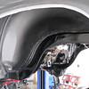 New undercoating; driver's side; rear fender.