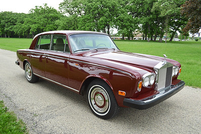 73 Silver Shadow - Cardinal red