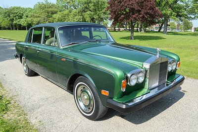 74 Silver Shadow LWB 2-tone green