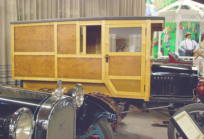 Ford 1921 Model T Snowmobile side rt