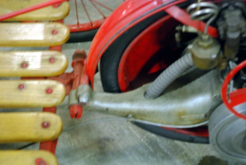 Briggs & Stratton Flyer c1920 engine mount
