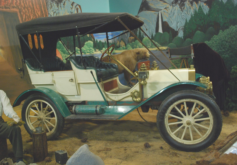 Cartercar 1909 Model H side rt