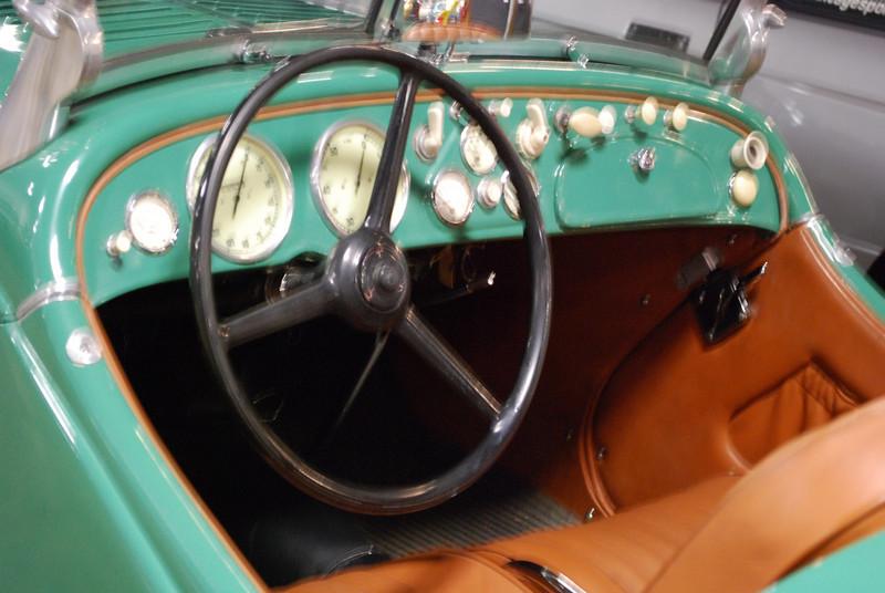 BMW 1938 328 interior