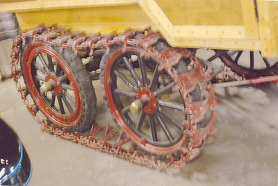 Ford 1921 Model T Snowmobile tracks