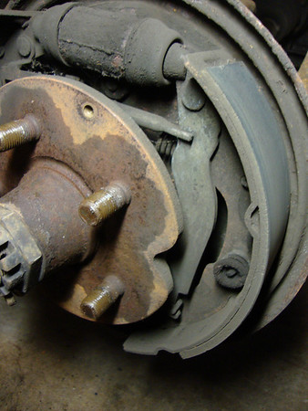 91 Vanagon Rear Brake Shoe and Cylinder Replacement