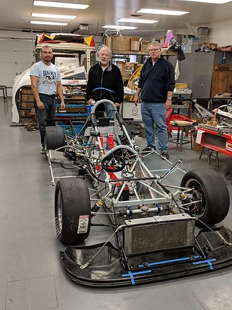 "January 10, 2018: Paul reported that, ""We've been working long hours trying to get the car ready for Fontana this weekend. We probably won't make the test day on Friday but we will be there. Big thanks to Lupe Mendoza, Chuck Koske and Charlie Bailey and my phone consultants Bob Fox and David Arken."""