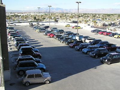Another view of the MINIs on top, taken Sunday morning.