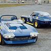 22  1966 Penske Sunoco team