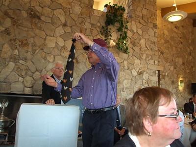 David Kanally tries his hand at auctioneering