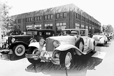 1929 Cord,ACD Museum, Auburn, Indiana