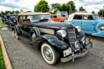 1935 Auburn Phaeton Sedan