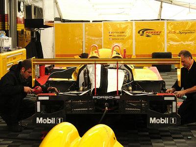 P2-Penske Motorsports   Porsche RS Spyder