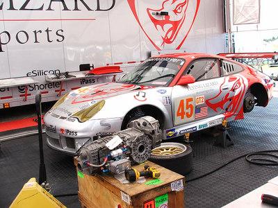 GT2 Flying Lizard Motorsports