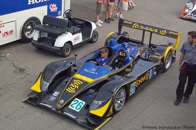 P2-Andretti Green Racing Acura ARX-01 b