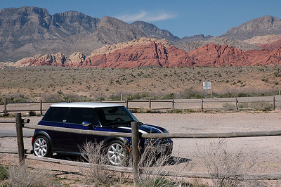 Yet another scenic stop between Red Rock Park and Las Vegas, during the AMVIV Friday afternoon drive.
