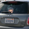 The King ditches his Cadillac for the back of a MINI Cooper S.