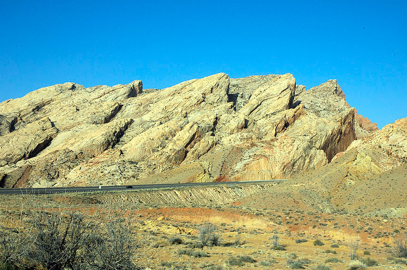 I-70 in Utah, between Green River and the intersection with I-15.