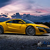 Acura - NSX (Indy Yellow - Vossen) - 2