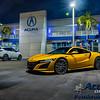 Acura - NSX (Indy Yellow - Vossen) - 7