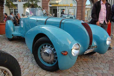 1938 Deutsch Bonnet DB2 SemiAero racecar.