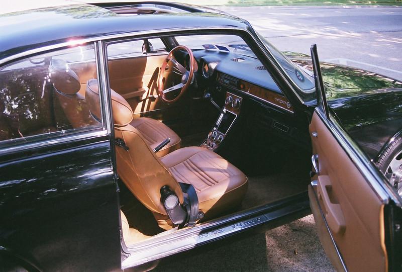 Right side interior: sun roof, custom interior