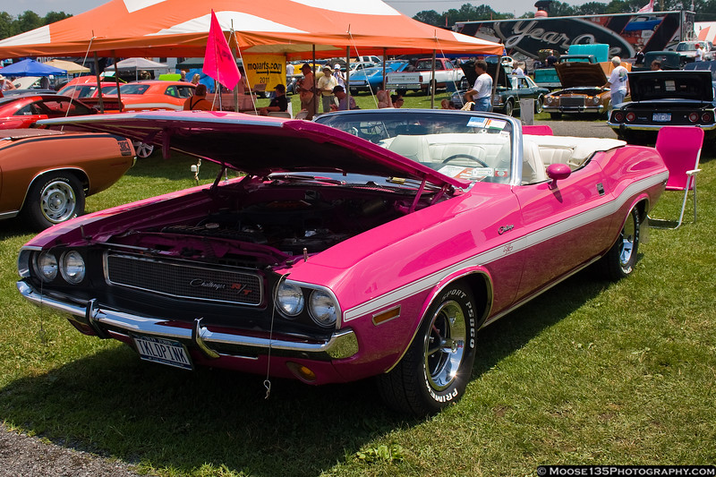 A pink muscle car? Only from Chrysler...