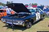 1972 Dodge Polara restored in California Highway Patrol colors.