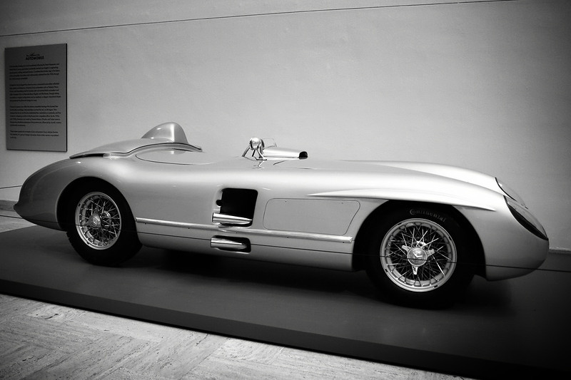 The Allure of the Automobile 1955 Mercedes-Benz 300SLR Roadster