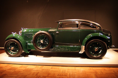 The Allure of the Automobile 1930 Bentley Speed Six Gurney Nutting Coupe