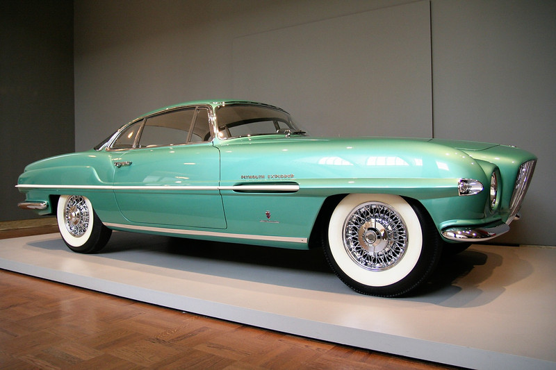 The Allure of the Automobile 1954 Plymouth Explorer Sports Coupe