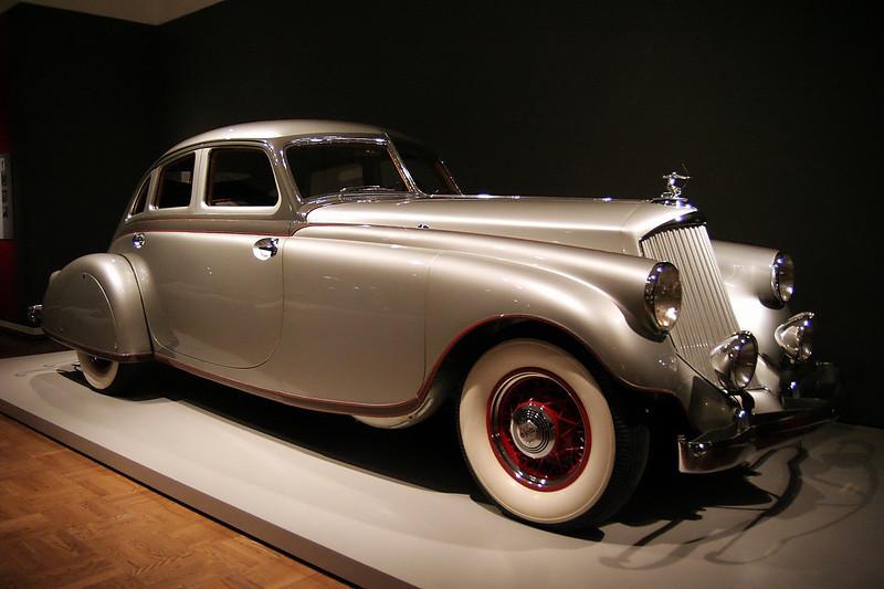 The Allure of the Automobile 1933 Pierce-Arrow Silver Arrow