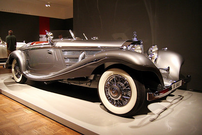 The Allure of the Automobile 1937 Mercedes-Benz 540K Special Roadster
