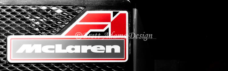 Mclaren F1 GTR - Rear Badge