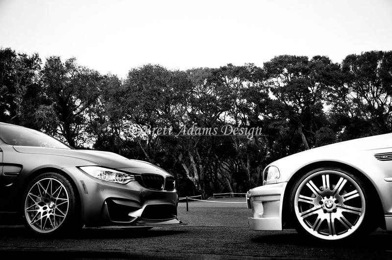 2016 BMW M4 GTS + 2001 BMW M3 GTR