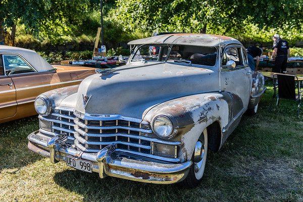 American Car Show Norrtälje 40th anniversary exhibition 2017 (HDR)