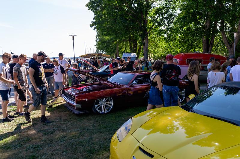 American Car Show Norrtälje 2018