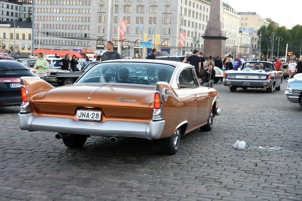 Plymouth Fury, Helsinki, 3 July 2015