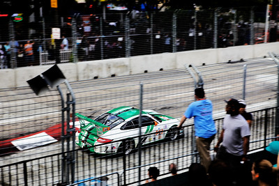 american le mans series (ALMS) at the inaugural baltimore grand prix on 2-4 september 2011