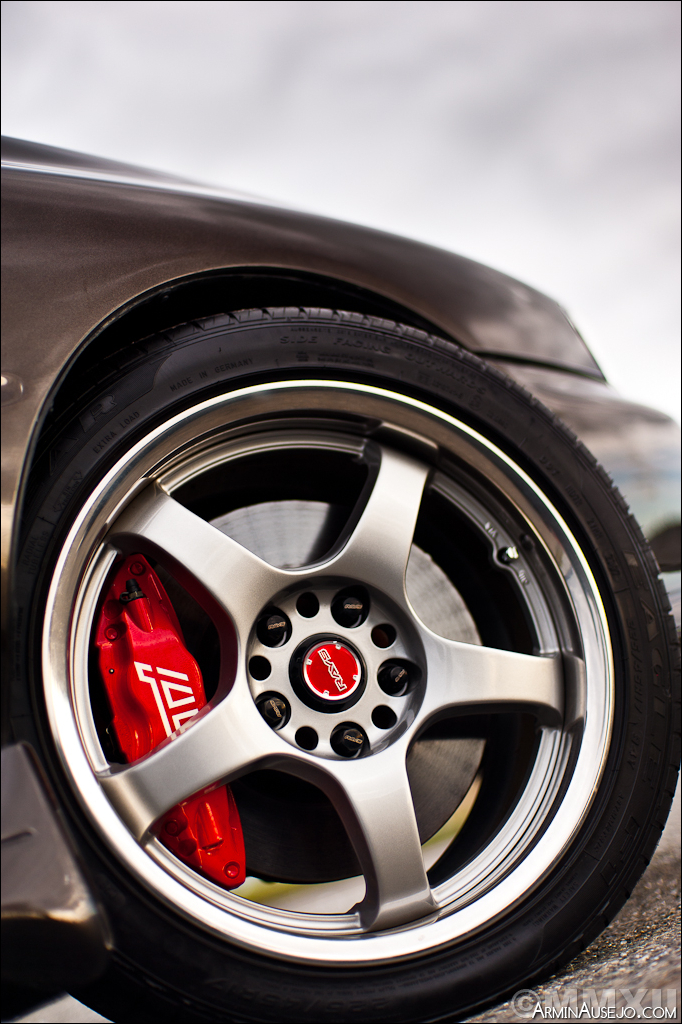 Wheel close-up of Andrew's RSTI