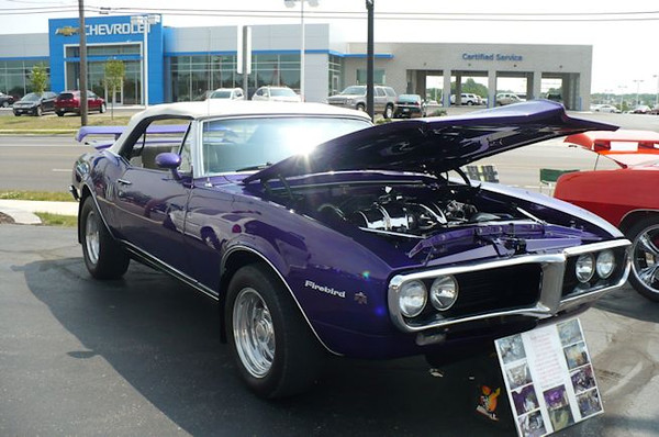 Old Muscle Car Show At The Portage Lakes 2012