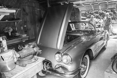 My new Car! a 59 Corvette. No rust, all original parts!