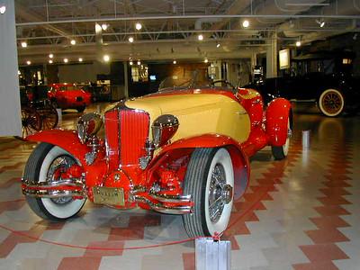 Antique Cars 4-Racers at Auburn Cord Museum