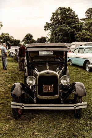 Antique Cars on Ministers Island