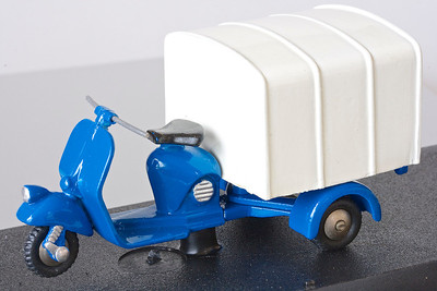 Scottoy Piaggio Ape. This is how the Ape began – by simply bolting a new back end onto a scooter