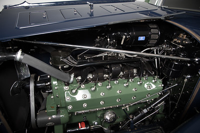 1932 Packard 905 Twin Six engine by Dave Weldon