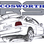Fors Escort RS Cosworth by Bill Garland