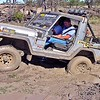 Navigator enjoys the Rocsta action. Note hing up rego plate to access tow ball.